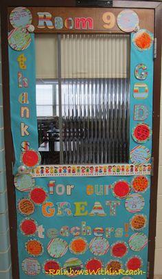 RainbowsWithinReach: Bulletin Boards, Classroom Doors and Part 3