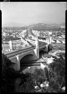 LOS ANGELES / ATWATER VILLAGE:  Hyperion Avenue Bridge, Los Angeles, 1932. Atwater Village