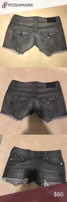 True region jean shorts 26 True region jean shorts 26 new without tags True Religion Shorts Jean Shorts