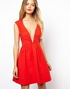If you dare... A high-impact evening dress at a very affordable price; $76 from ASOS.