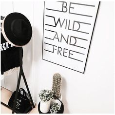 Be Wild and Free Print by Honeymoon Hotel on Fy • From £18