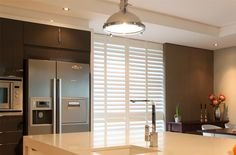 Kitchens are the heart of a home, our Shutters are not only practical and easy to maintain, they are stylish and will suit any kitchen decor theme. Hallmark Christmas, Diy Christmas, Christmas Decorations, American Shutters, Kitchen Shutters, Normandy, Kitchen Decor, Divider, Gallery
