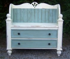 dresser to bench by just_jen