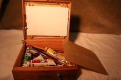 How to Build a Pochade Box from a Cigar Box