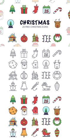 Free Christmas Vector Icon Set is an excellent thematic set of 20 icons. Each element is vector. You can change the size without losing quality. It is perfect for any projects related to the theme of «Christmas Easy Christmas Drawings, Christmas Doodles, Christmas Icons, Christmas Art, Christmas Night, Doodle Drawings, Doodle Art, Easy Drawings, Icon Set