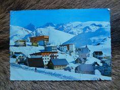 """Carte postale """"L' ALPE D'HUEZ """"Année 1965 ANTIQUITE AU VIEUX PARCHET UGINE"""