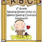 If you use the new Reading Street Basal Series, these contracts will motivate your students by making spelling homework fun! Students choose 3 of t...