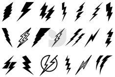 21 Awesome lightning bolt symbol font images