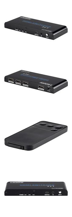 Splitters and Combiners: Monoprice Blackbird 4K Pro 3X1 Hdmi Switch With Hdcp 2.2 Support -> BUY IT NOW ONLY: $34.99 on eBay!