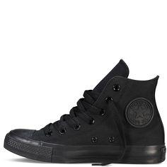 Converse - CT All Star Classic Hi Canvas Sneaker - Black Mono