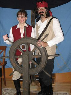 How to make a Pirate Ship Helm/Wheel