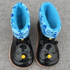 >> Click to Buy << WENDYWU Kids boots baby girls Rain Boots warm Rhino cartoon kids Rainboots Fashion Rubber Shoes Toddler Kids Jelly shoes black #Affiliate
