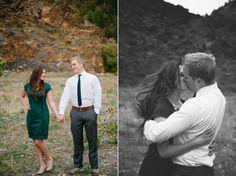 mountain engagement photos utah