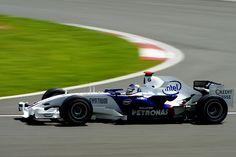 2007 Silverstone BMW F1.07 Nick Heidfeld