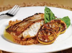 Bertolli® Olive Oil - Grilled Cod with Romesco Sauce