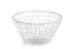 For the pantry to keep potatoes and onions. Large Taborah Bowl, Distressed White on OneKingsLane.com