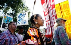 A sea of thousands of Native Americans from over 200 indigenous nations has descended onto the Great Plains to stand at the forefront of a new but familiar battle against fossil fuels.