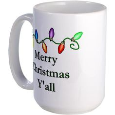Shop Merry Christmas Y'all Large 15 oz Ceramic Large Mug designed by Wobbly Rooster Shop. Christmas Dinnerware, Christmas Dishes, Merry Christmas, Paint Your Own Pottery, Pottery Studio, Tile Ideas, Mug Cup, Mug Designs, South Carolina