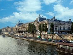 Museum D'orsay In Paris In France From The River Seine