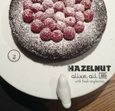 Hazelnut olive oil cake -  gluten & dairy free
