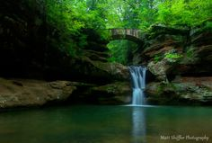 """3) Old Man's Cave - Upper Falls: Because we all know that Hocking Hills is the most underrated destination in Ohio because it makes us feel like we are straight up living a """"Lord of the Rings"""" film."""