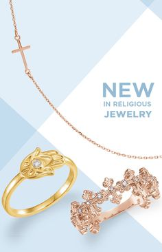 Check out what's NEW in Religious Jewelry. Styles Featured: 86531, 86564, 123209, 123330