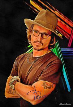 Johnny Depp - Poster