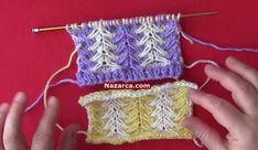 ŞİŞ İLE ÖRÜLEN EN KOLAY ÖRGÜ ÇOCUK BOLERO (RESİMLİ ANLATIMLI) | Nazarca.com Baby Mermaid, Knitting Stitches, Fingerless Gloves, Arm Warmers, Stitch Patterns, Crochet, Youtube, Knitting Sweaters, Knits