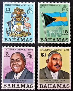 Vintage, Bahamian postage Stamps, Bahamas independence Old Photos, Vintage Photos, Black Love Art, Sculpture Painting, First Photograph, African American Art, Photo Postcards, Anthropology, Postage Stamps