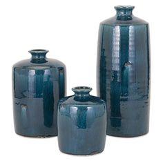 IMAX Arlo Blue Vase | from hayneedle.com