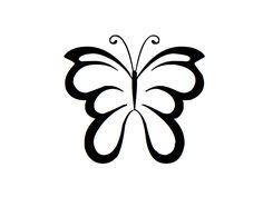 Desenho de Borboleta para Tatuagem