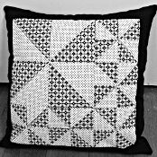 Pinwheel Cushion Pattern