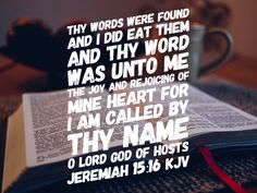 "Thy words were found and I did eat them! Jeremiah 15:16   The Spirit of Understanding is God's supernatural revelation-His secret insights to His Word.  Understanding simply means a ""putting together"" or a comprehending or a grasping of His Word.  The Spirit of God illuminates our hearts and gives us understanding of His Wisdom.  In other words, He ""turns on the lights for us."""