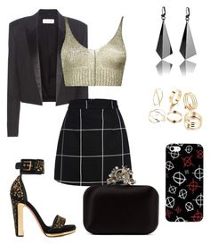 """""""Style Beutiful"""" by daniellecarso on Polyvore featuring Yves Saint Laurent, Boohoo, Alexander McQueen and Jimmy Choo"""
