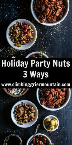 Make your holiday entertaining a breeze! Try my recipe for Holiday Nuts 3 Ways and you'll find that folks will go nuts over spiced roasted pecans, candied pistachios, and duck fat fried almonds! Prepare yourself. We are talking all things N-U-T-S today. I will warn you in advance that my five year-old inner child is …