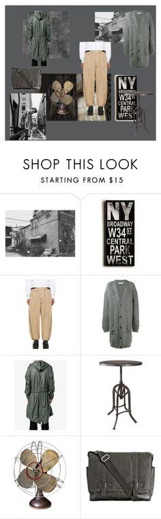 """tendencia industrial"" by estilismo on Polyvore featuring Home Decorators Collection, SASQUATCHfabrix, J.W. Anderson, Y-3, Westinghouse, Cole Haan, men's fashion y menswear"