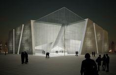 Italian Pavilion, 2010 Shanghai Expo #Transluscent concrete