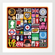 THIS IS THE MODERN WORLD Art Print Promoters - $18.00