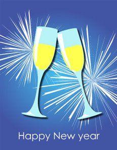 printable new year greeting card carte de voeux imprimable pour la nouvelle anne