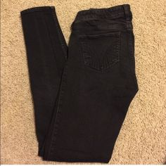Hollister Black Skinny Jeans got from another posher! sadly it was the wrong size Urban Outfitters Jeans Skinny