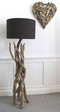 branched driftwood lamps by karen miller @ devon driftwood designs | notonthehighstreet.com