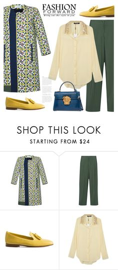 """""""10.10.16"""" by bliznec ❤ liked on Polyvore featuring Santoni, WithChic, Dolce&Gabbana and Fall"""