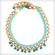Great for everyday wear £65 http://www.cottonandgems.com/jewellery/necklaces/clare-hynes-green-suyin-necklace