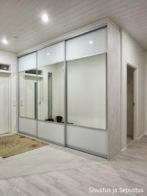 Bedroom Design Inspiration, Entrance Hall, Closet, House, Furniture, Home Decor, Image, Yurts, Mirror Door