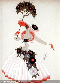Erte costume design