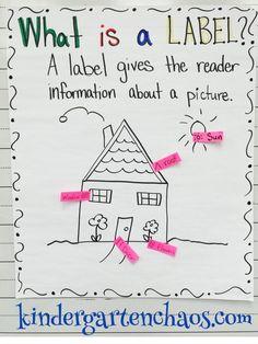 Must Make Kindergarten Anchor Charts                                                                                                                                                      More