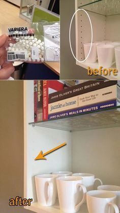 12. Fill all the shelf holes in Ikea cabinets and bookcases with these amazing little plastic pieces: Cheap Ways to Make IKEA Stuff from Plain to Expensive-Looking