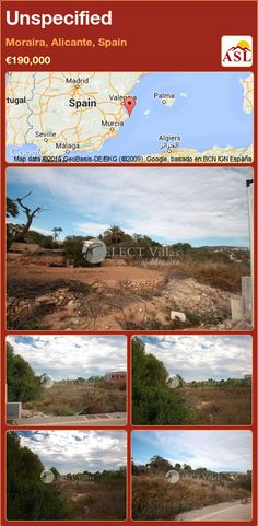 Unspecified for Sale in Moraira, Alicante, Spain - A Spanish Life Plots For Sale, Moraira, Alicante Spain, Seville, Malaga, Madrid, Spanish, Beach, Life