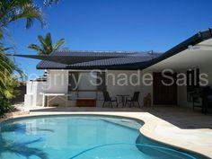 Integrity Shade Sails 961 Shade Sails, Integrity, Pools, Sailing, Shades, Mansions, House Styles, Outdoor Decor, Home Decor
