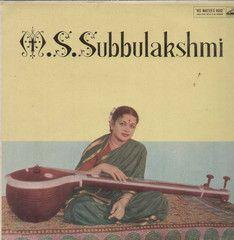M.S. Subbulakshmi Bollywood Vinyl LP- First Press